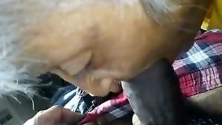 Old black lady