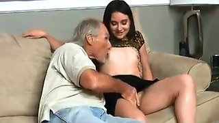 FA She's Enjoying Uncles Big Cock Until Daddy Comes Home !