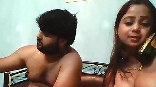 Desi couple ki mast with daaru