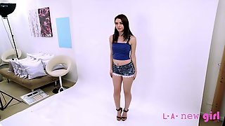 TEEN MODEL GETS FUCKED BY AGENT AT CASTING AUDITION