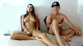 Great college couple fucks on cam