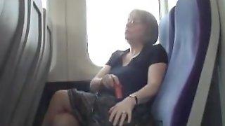 Trisha on bus