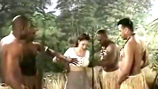 China Black Gangbang