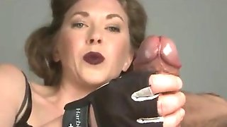 Love the dick from her hands.