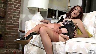 Jessica Pressley Open bottom girdle gal!
