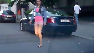 Street Prostitutes & Hookers being filmed 1