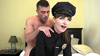 GenderX - Trans Police Offer Natalie Mars Anal Fucked