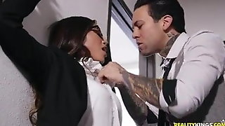 Sexy Vina Sky hammered at school by hung Small Hands Fux
