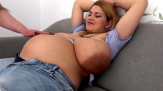 Pregnant breasts