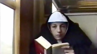 Lonely traveling nun also wants to be fucked