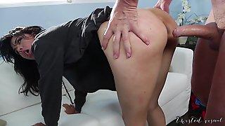 Asian MILF Ass Fucked Rough!!!