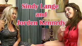 Jorden Kennedy and the cheerleader coach