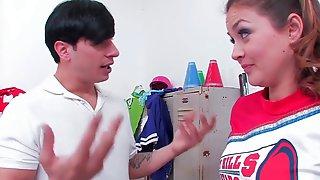Cheerleader Allie Haze