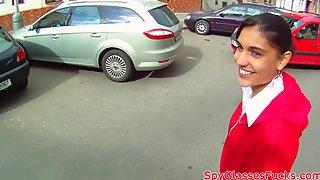 Alluring arab pov banged on camera